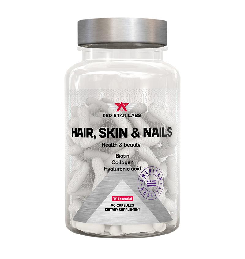 Купить Комплекс Red Star Labs Hair, Skin & Nails, 90 капс, Комплекс Red Star Labs Hair Skin & Nails капсулы 90 шт.