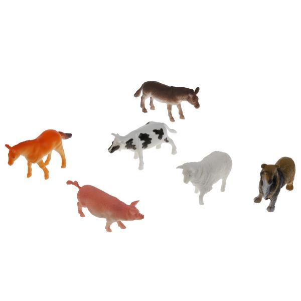 Купить Набор игрушек Играем Вместе Домашние животные 830E, 10 см,