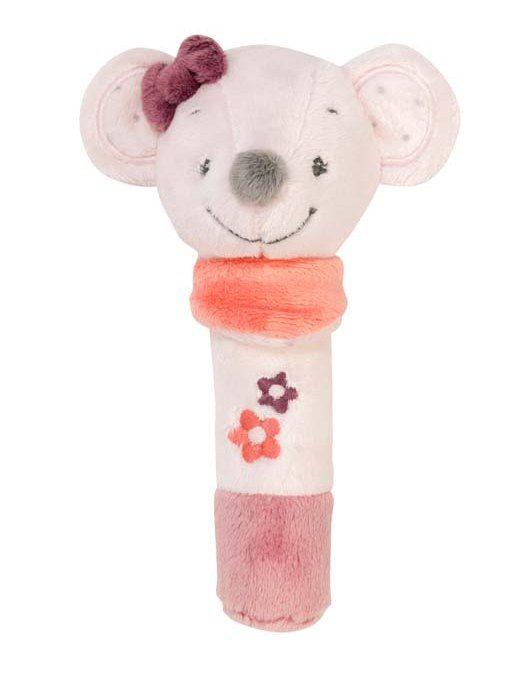 Купить Игрушка мягкая Nattou Cri-Cris (Наттоу Кри Крис) Adele & Valentine Мышка 424110,