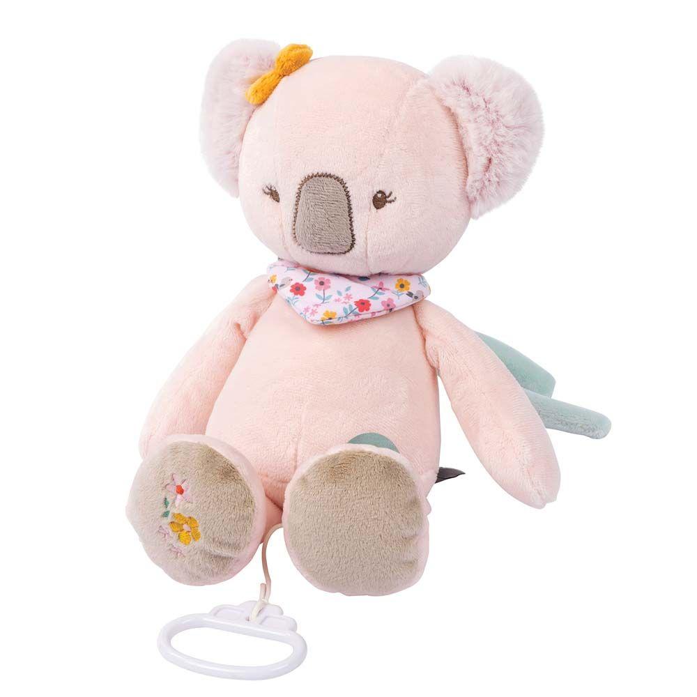 Купить Игрушка мягкая Nattou Musical Soft toy Iris & Lali Коала музыкальная 631051,
