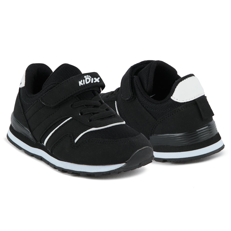 Кроссовки для детей Kidix GTS21-5 black черный 25,  - купить со скидкой