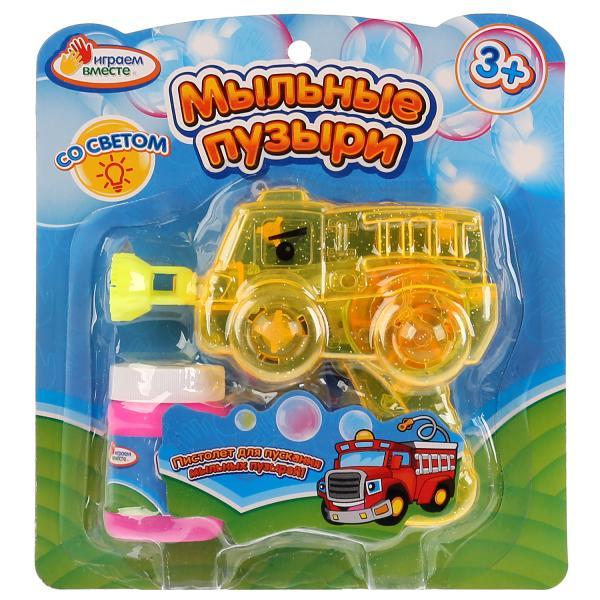 Пистолет для пускания мыльных пузырей Играем Вместе