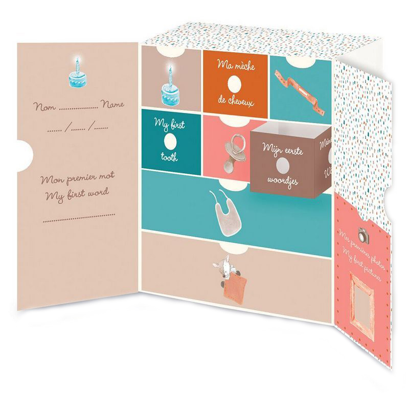 Коробка Nattou (Наттоу) Mia & Basile Кролик и Мишка для сокровищ 562508