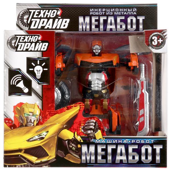 Купить Трансформирующийся робот ТехноДрайв Мегабот 1801C214-R1 с аксессуарами в ассортименте,