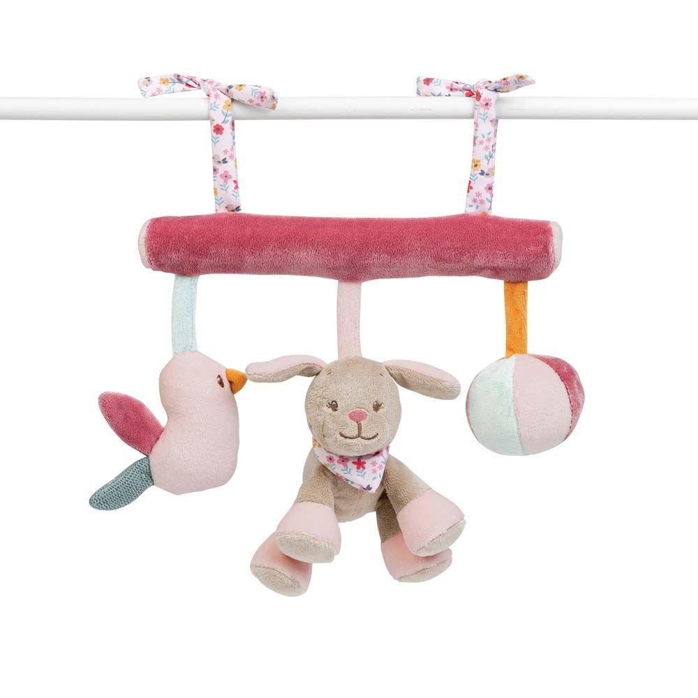Купить Игрушка мягкая Nattou Soft toy Iris & Lali Коала и Собачка на завязках 631167,