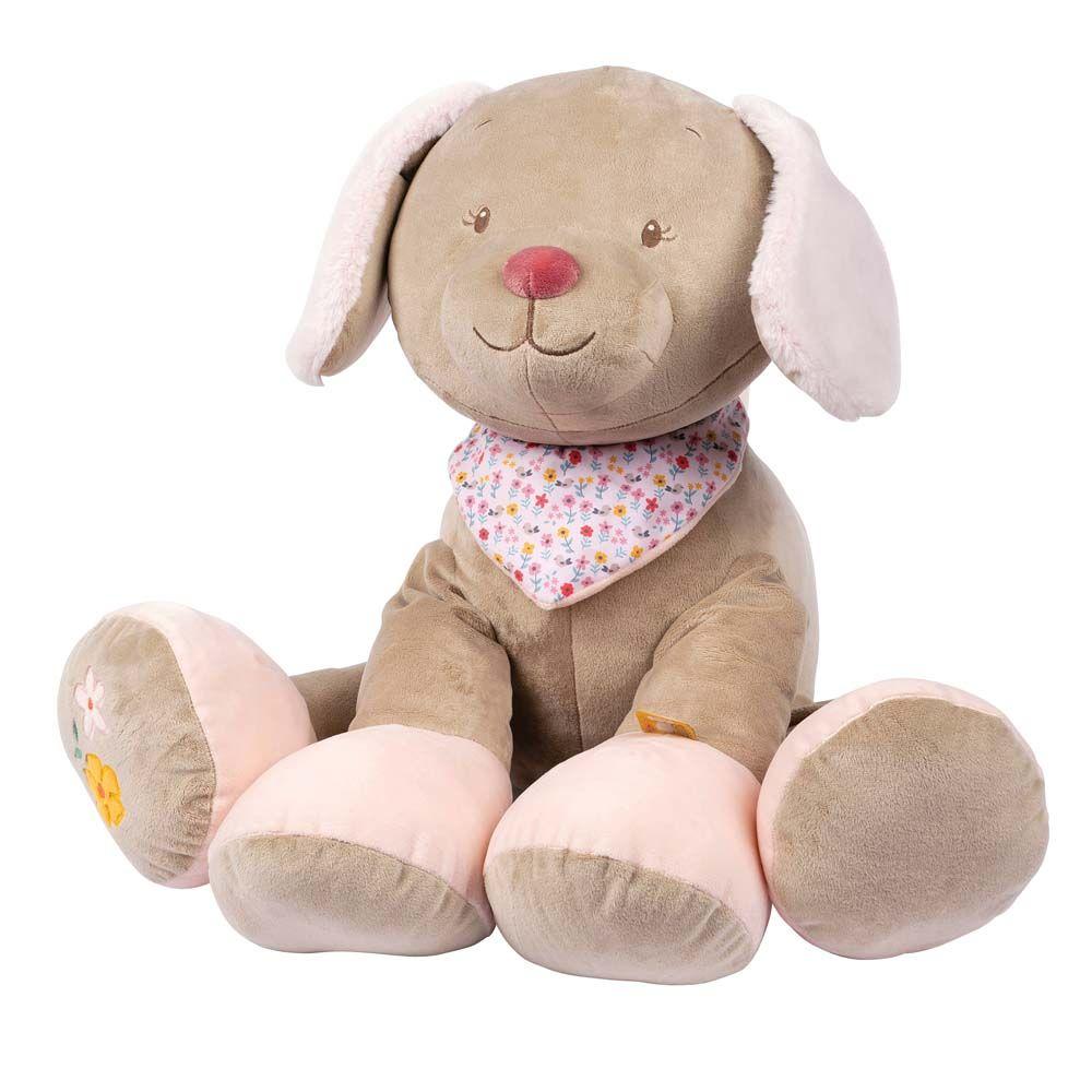 Купить Игрушка мягкая Nattou Soft toy (НаттоуСофт Той) Iris & Lali Собачка 75 см 631044,