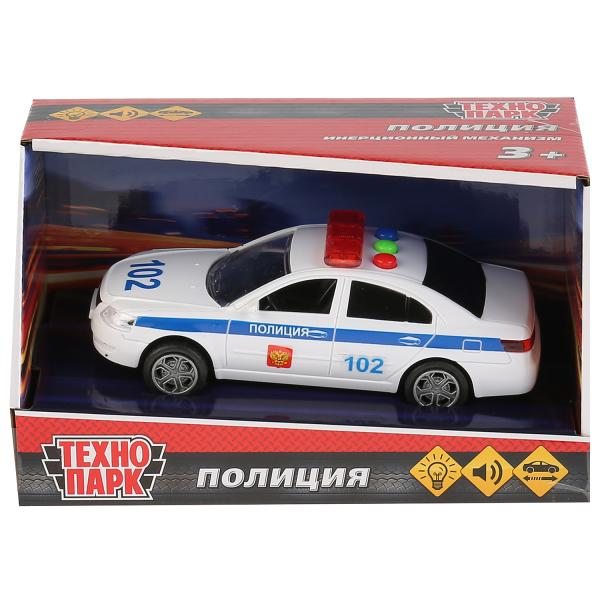Машина Технопарк Седан Полиция 14,5 см