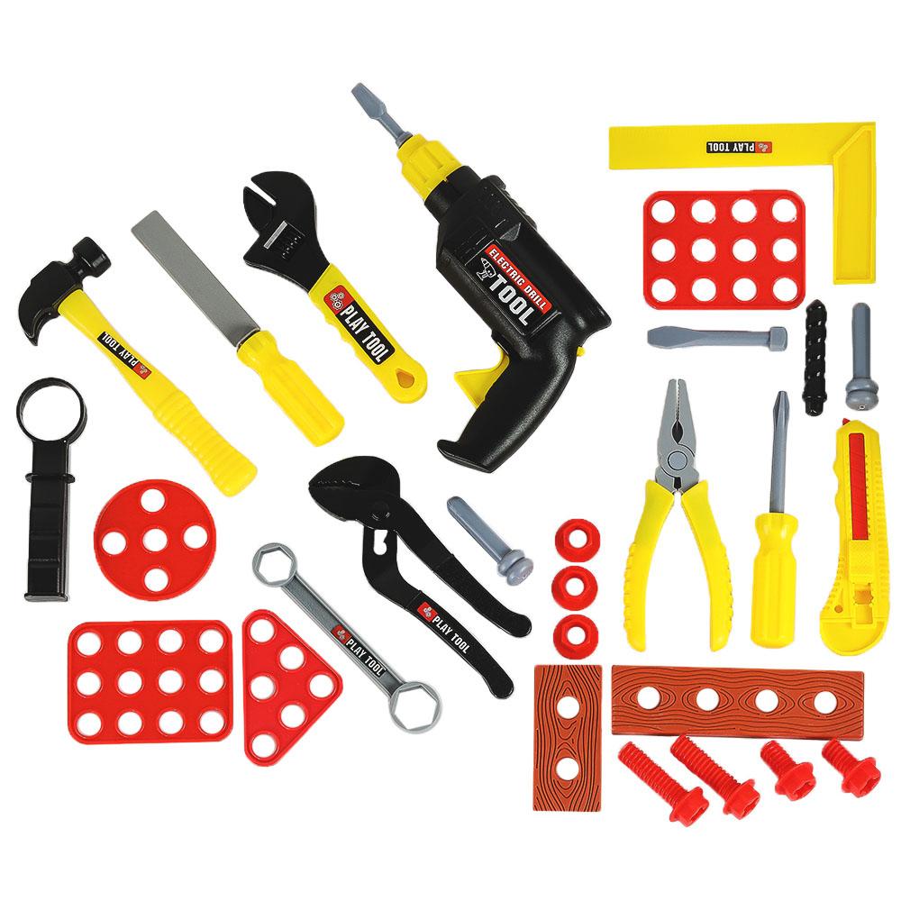 Набор игровой Джамбо Тойз Инструменты, 28 предметов 201198