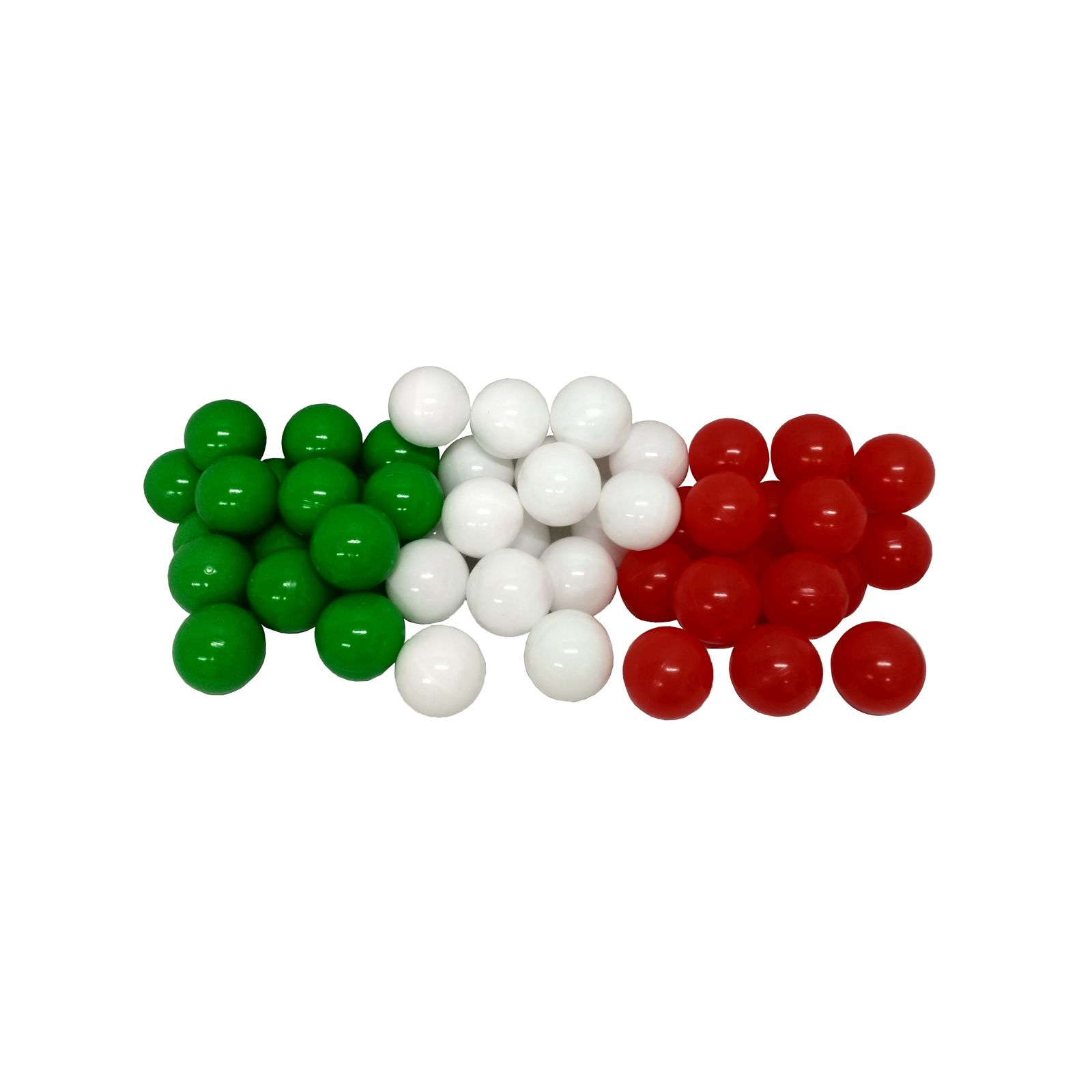 Комплект шариков Италия серия флаги 50