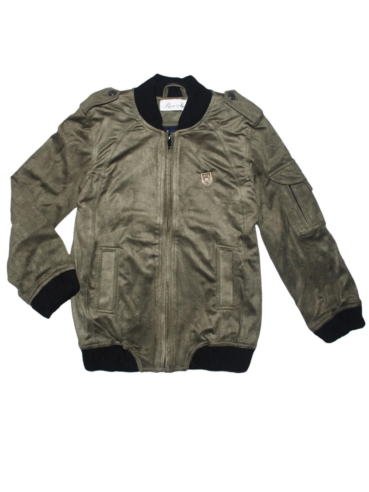 Купить Куртка для мальчика Bon&Bon /578/30/122/зеленый,