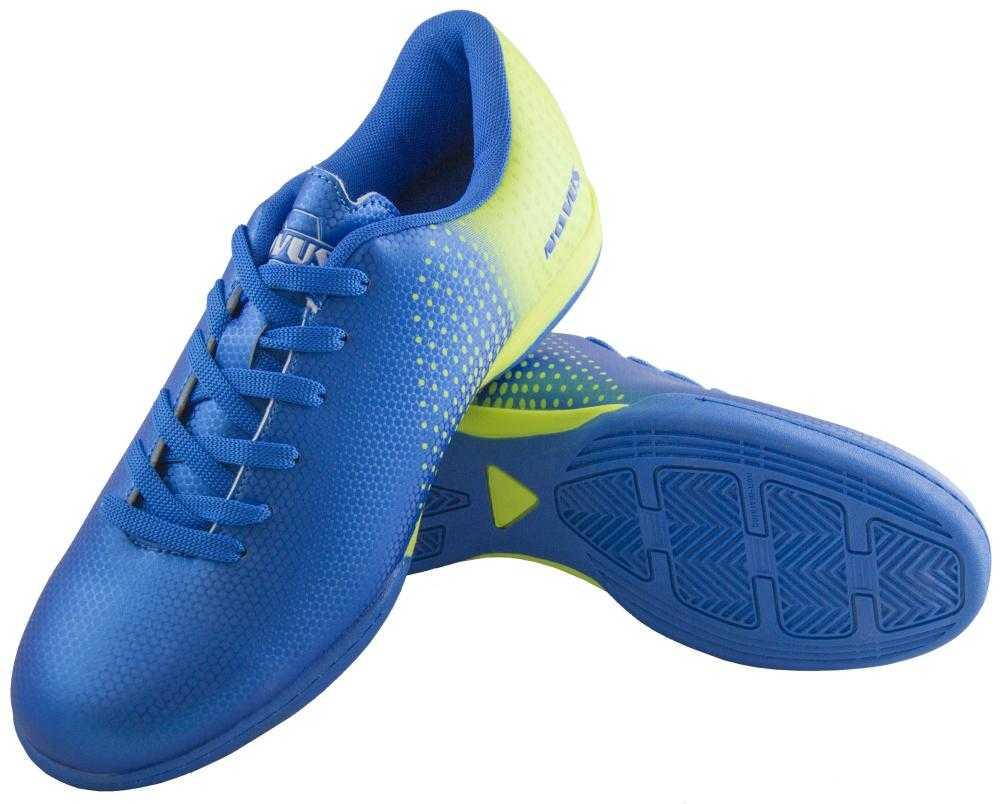 Бутсы Novus NSB-22 Indoor, голубой, 45 RU NSB-22 Indoor по цене 1 330