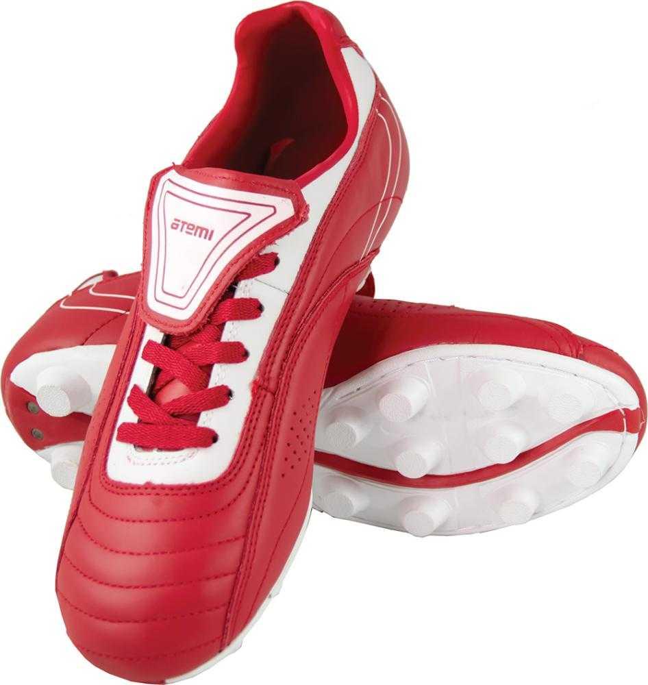 Бутсы Atemi SD732 MSR, красный/белый, 45 RU SD732 MSR по цене 1 600