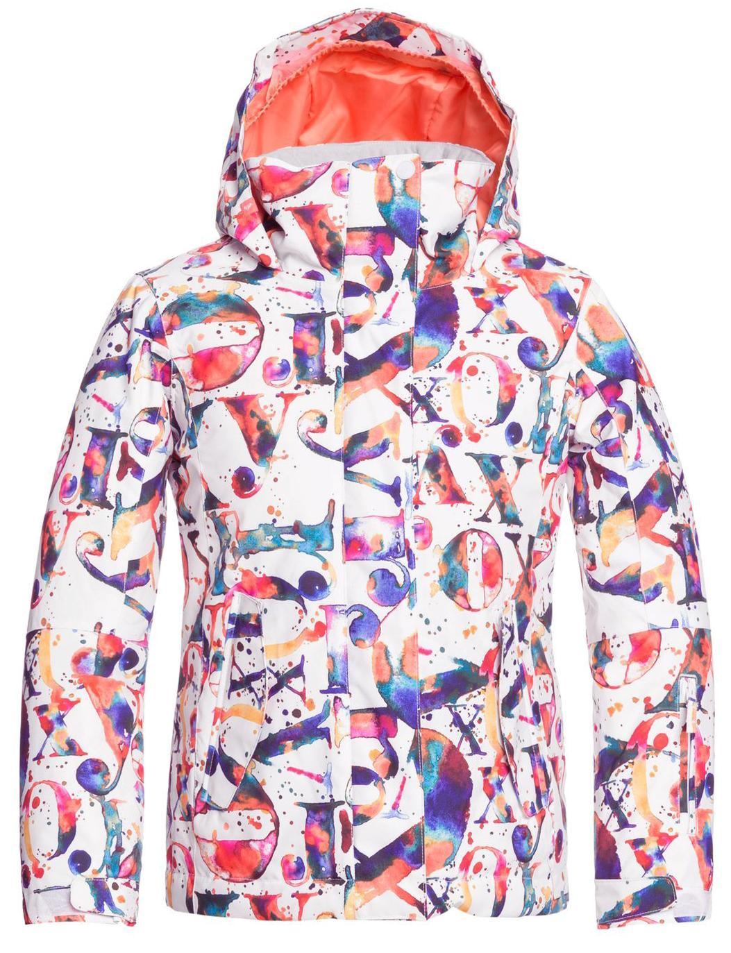 Куртка Сноубордическая Roxy 2020-21 Rx Jetty Bright White Magic Carpet (Возраст:8)