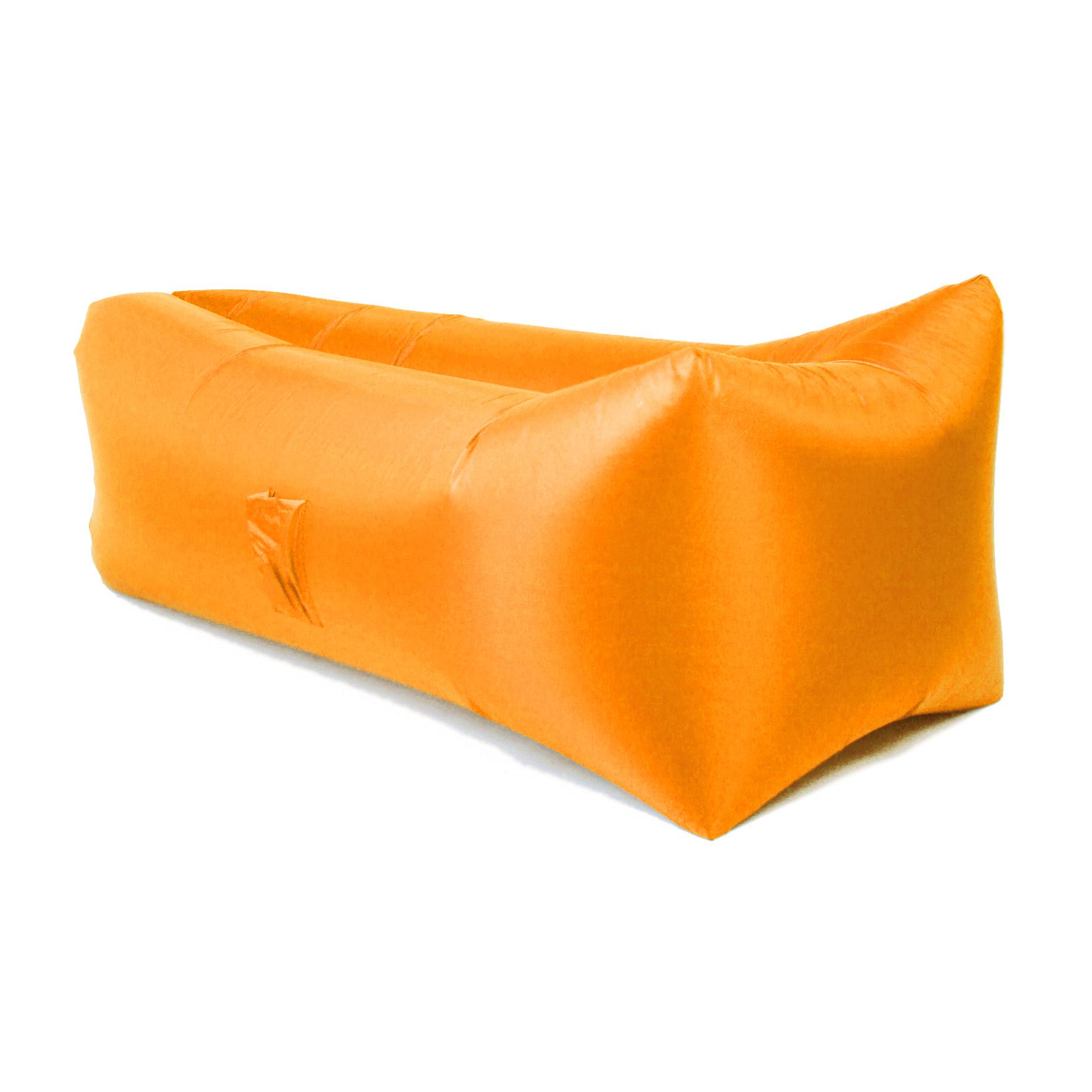 Надувной диван БИВАН 2,0 (BVN17-ORGNL-ORN) оранжевый