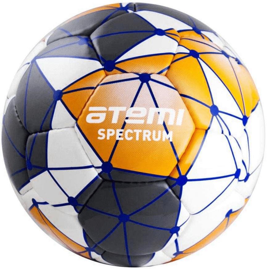 Футбольный мяч Atemi Spectrum Leisure №5 белый/оранжевый/серый Spectrum Leisure по цене 799