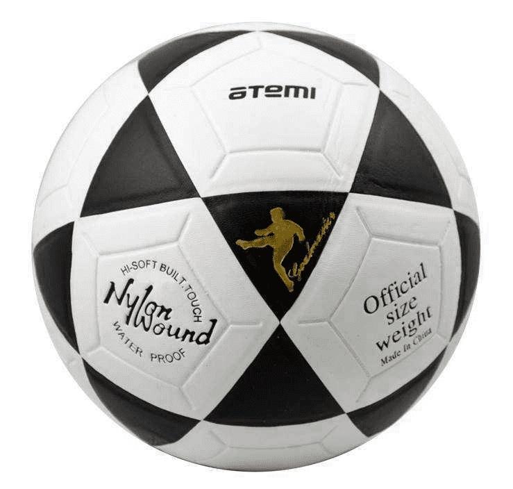 Футбольный мяч Atemi Goal №5 белый/черный Goal по цене 670