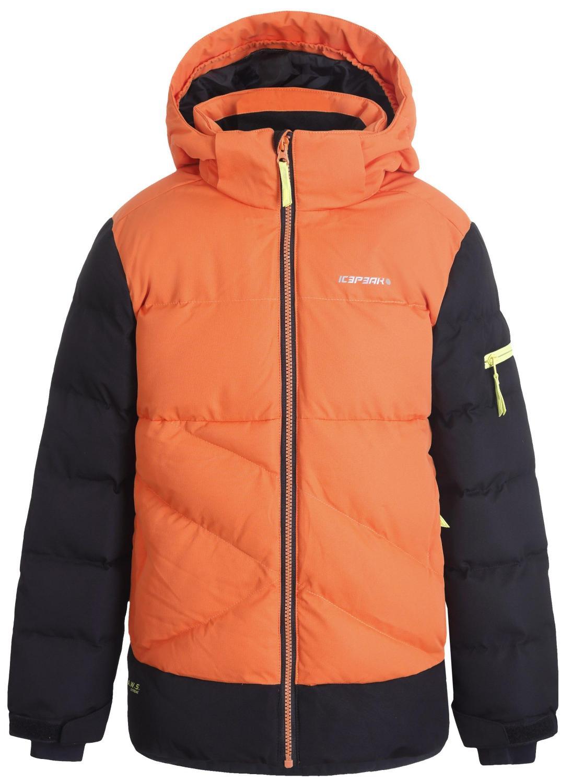 Куртка Горнолыжная Icepeak 2020-21 Loudon Jr Orange (Рост:122)