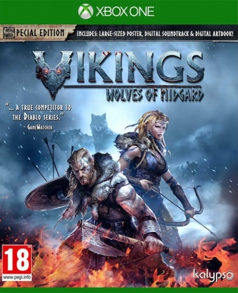 Игра Vikings: Wolves of Midgard Special Edition