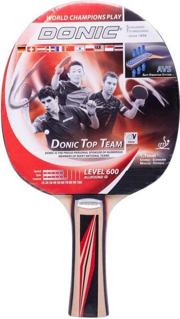 Ракетка для настольного тенниса DONIC/Schildkrot Top Team 600