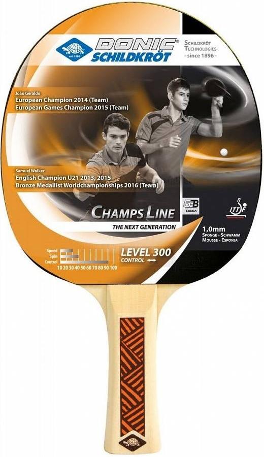 Ракетка для настольного тенниса DONIC/Schildkrot Champs Line 300 фото