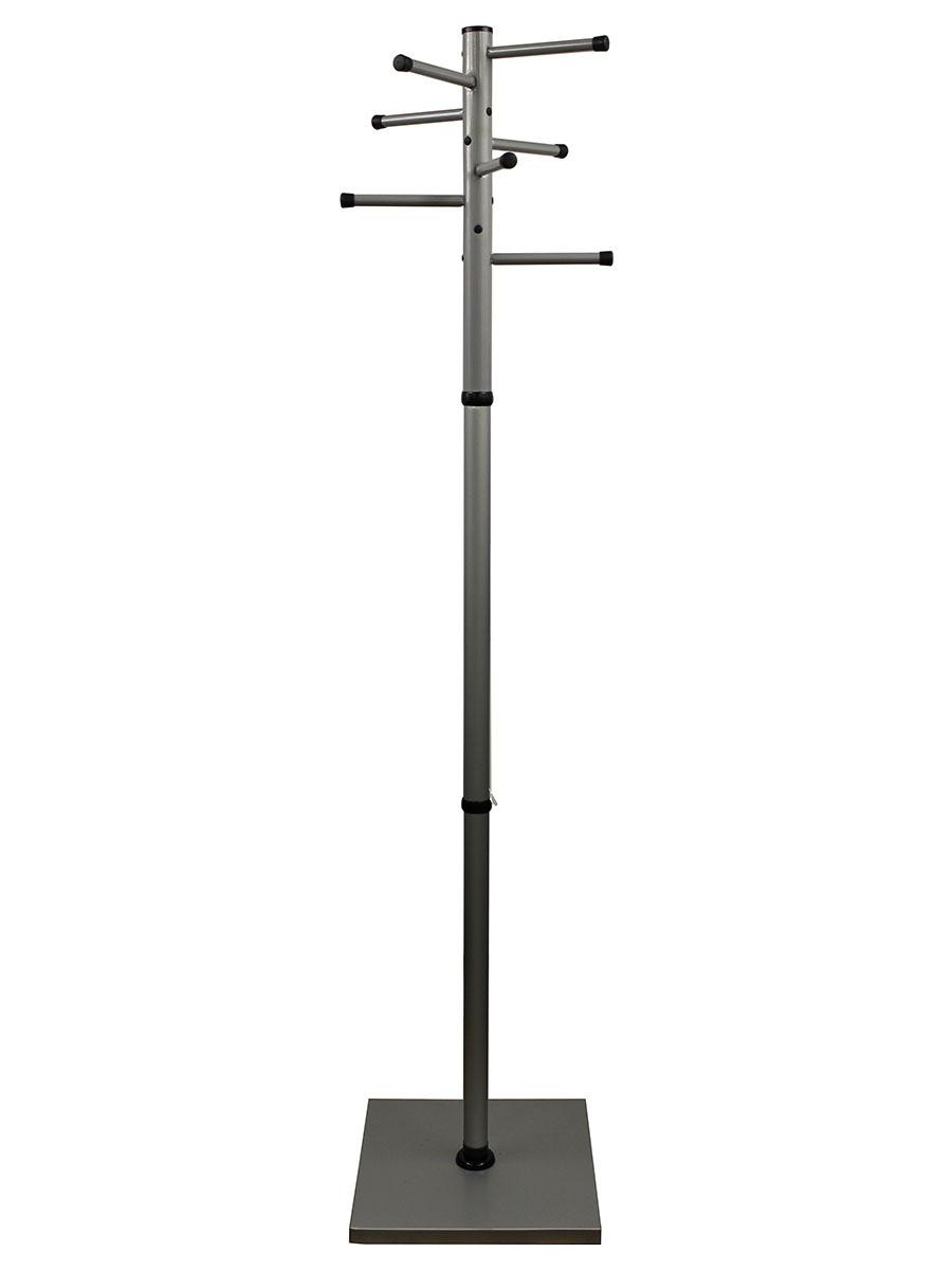 Вешалка напольная Титан Мажор М4,цвет серый металик,