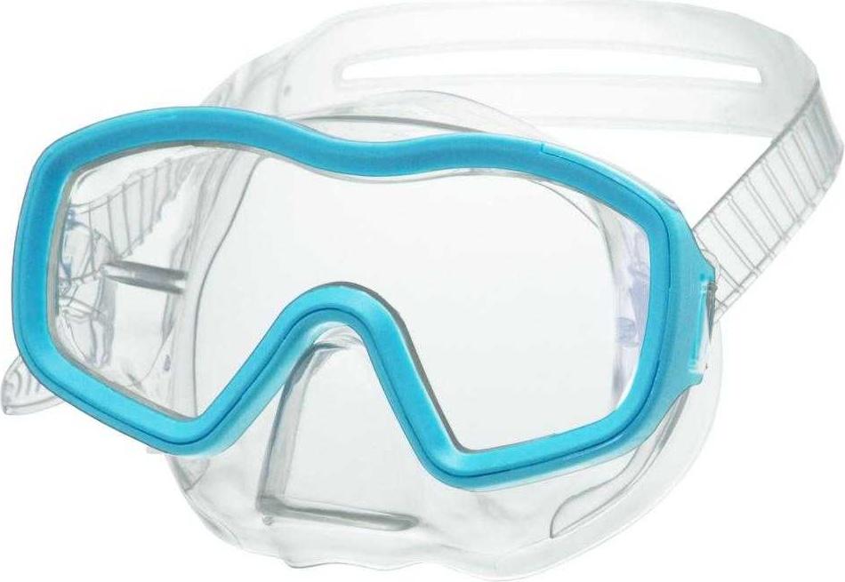 Маска для плавания Atemi детская, голубой (ПВХ), 430 430 по цене 510