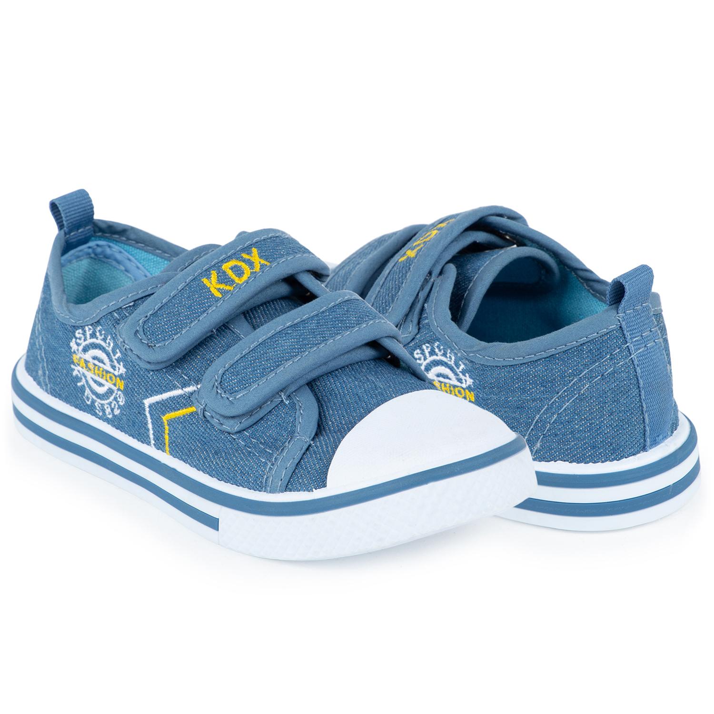 Купить Кеды для детей Kidix RBS21-28 blue голубой 23,