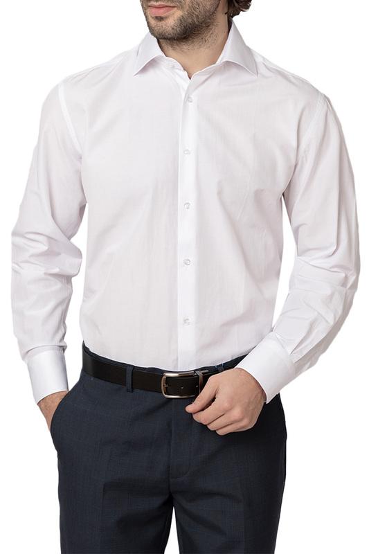 Сорочка мужская HOFFSTEIN 19S-SH34RLSN/01-1 белая 42 EU