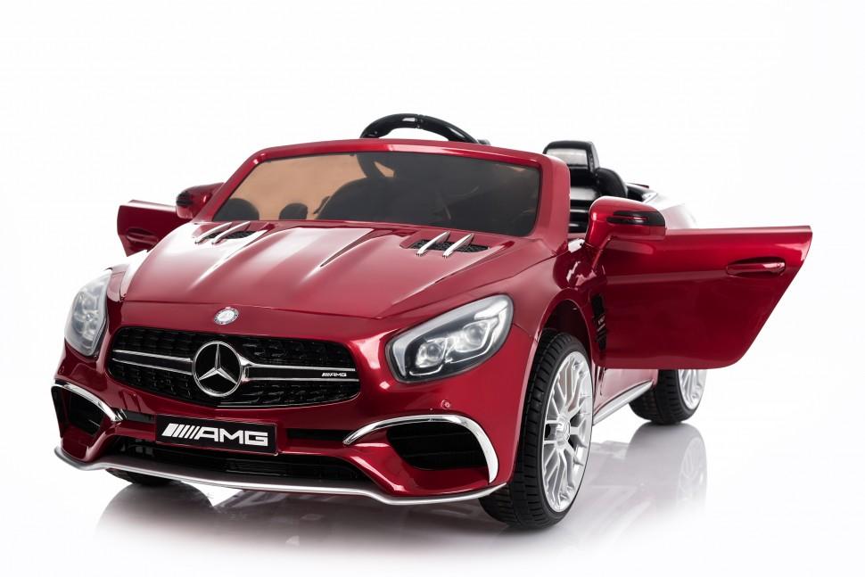 Детский электромобиль Mercedes-Benz SL65 Red 12V 2.4G - XMX602 XMX