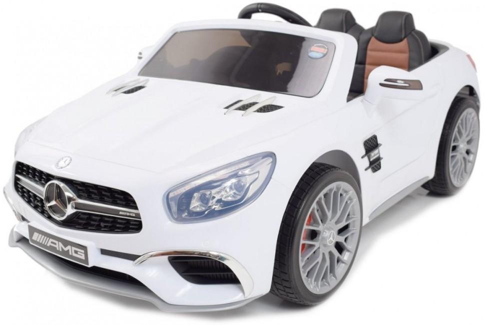 Купить Детский электромобиль Mercedes-Benz SL65 White 12V 2.4G - XMX602-W,
