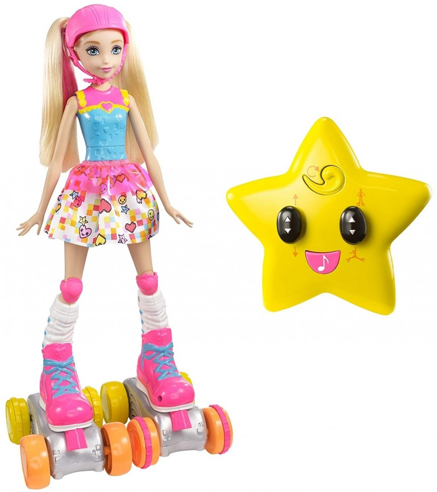 Купить Кукла на роликах с пультом управления - JJ8855, CS Toys,