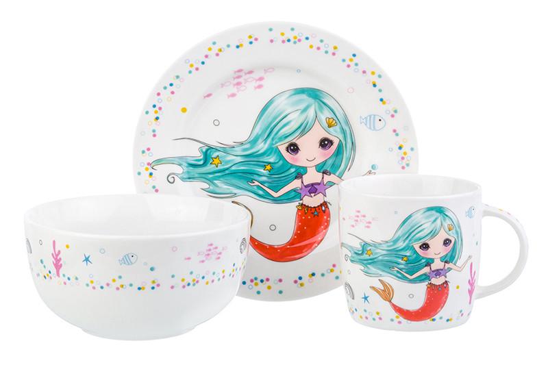 Набор посуды Elan Gallery Русалка с голубыми