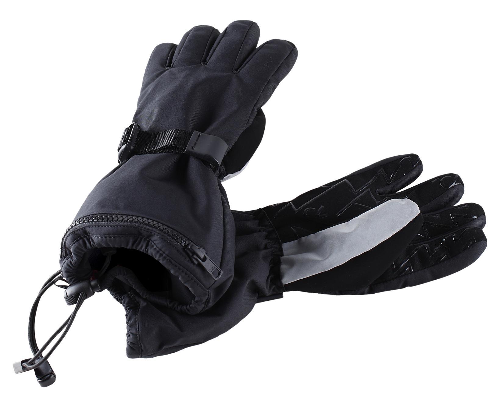 Перчатки Горные Reima 2020-21 Viggu Black (Возраст:6)