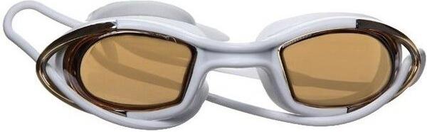 Очки для плавания Atemi, силикон (бел/оранж), N9101M N9101M по цене 450