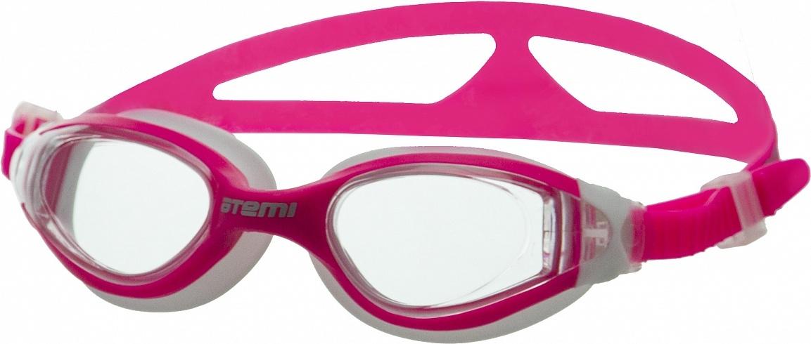 Очки для плавания Atemi, дет., силикон (роз/бел), B602 B602 по цене 620