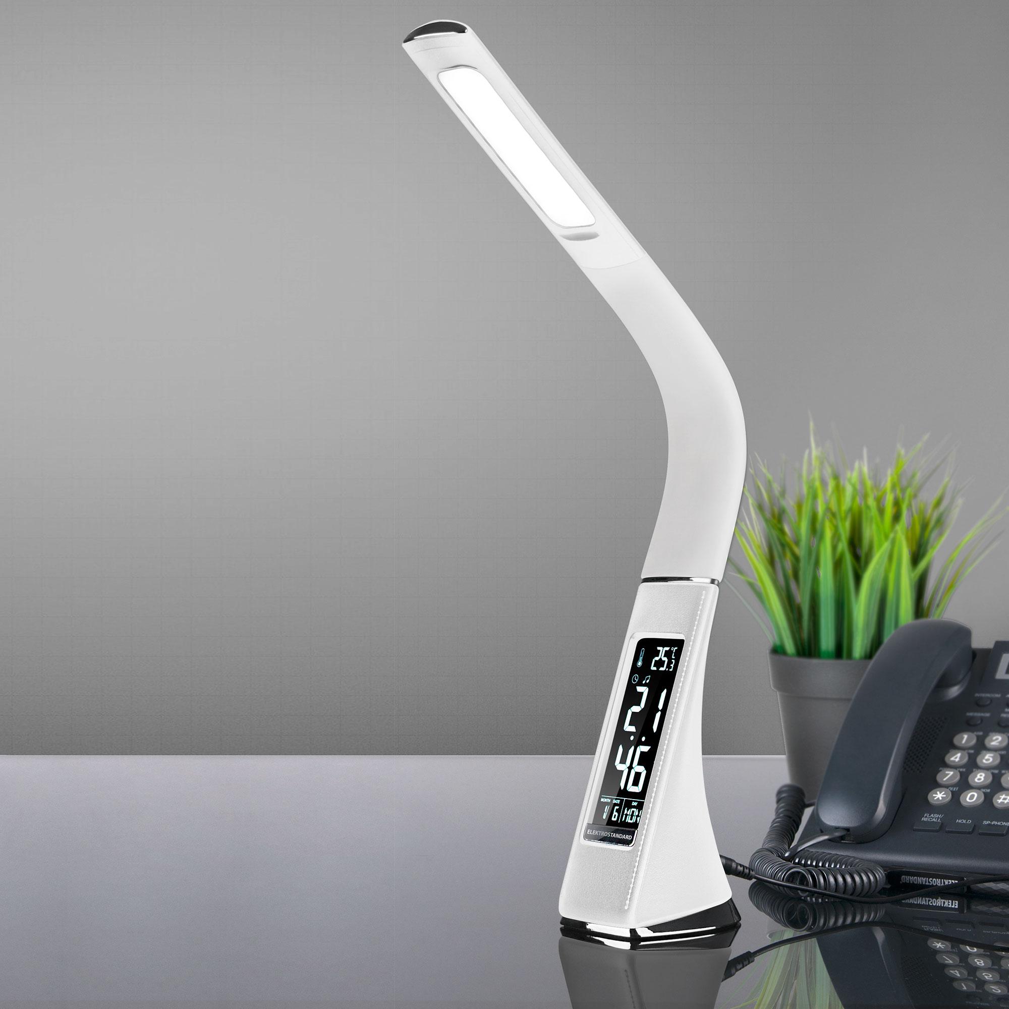 Светодиодная настольная лампа Elara белый (TL90220) ЕВРОСВЕТ