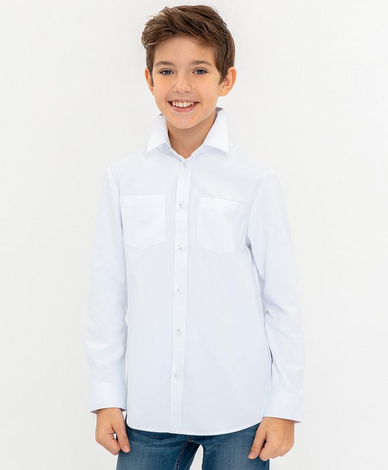 Купить 120BBBP23030200, Рубашка для мальчиков Button Blue, цв. белый, р.104,