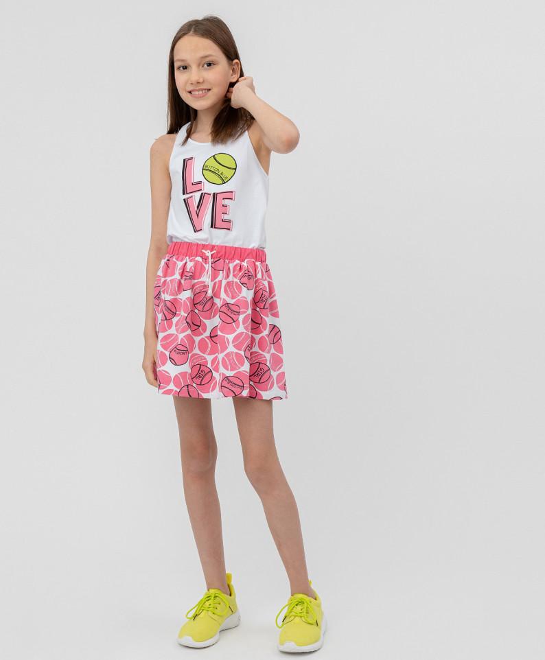 Купить 120BBGF55011213, Юбка для девочек Button Blue, цв. розовый, р.116,