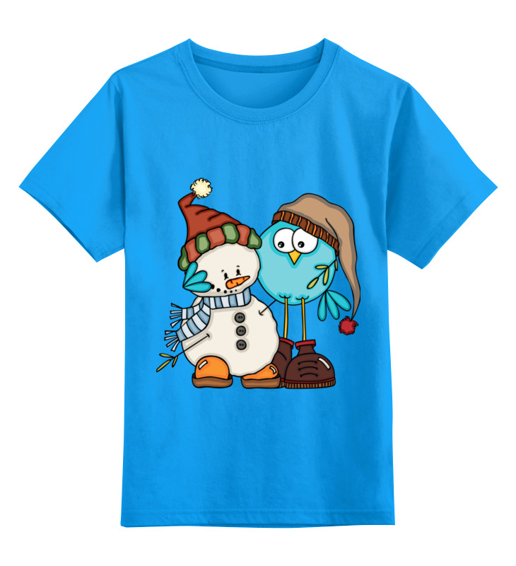 Детская футболка Printio Сладкая парочка цв.голубой р.116 0000002644609 по цене 990