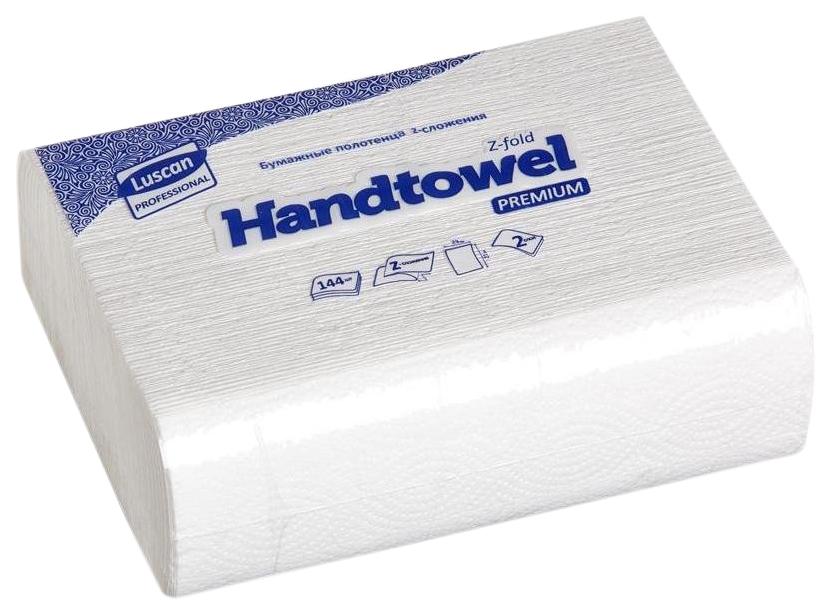Полотенца бумажные листовые luscan professional z сложения