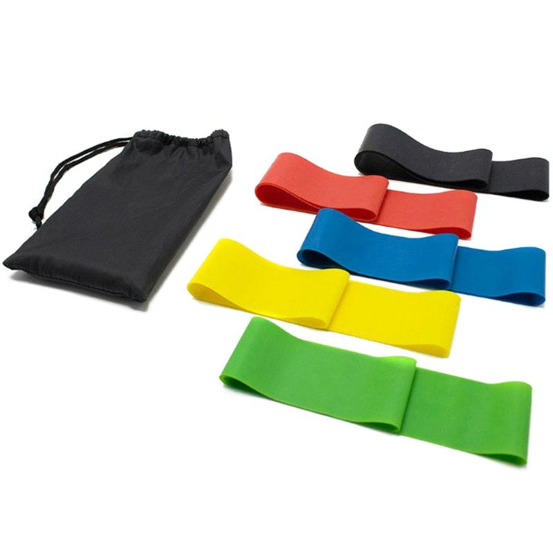 Резинки для фитнеса (эспандеры) набор mini bands