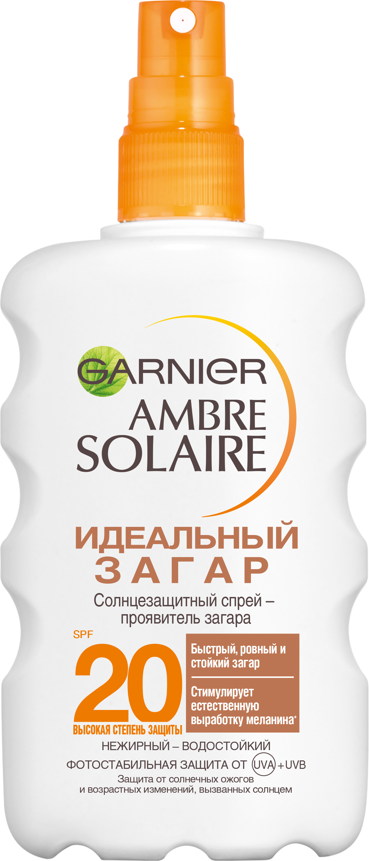 Спрей для загара Garnier Ambre Solaire SPF20