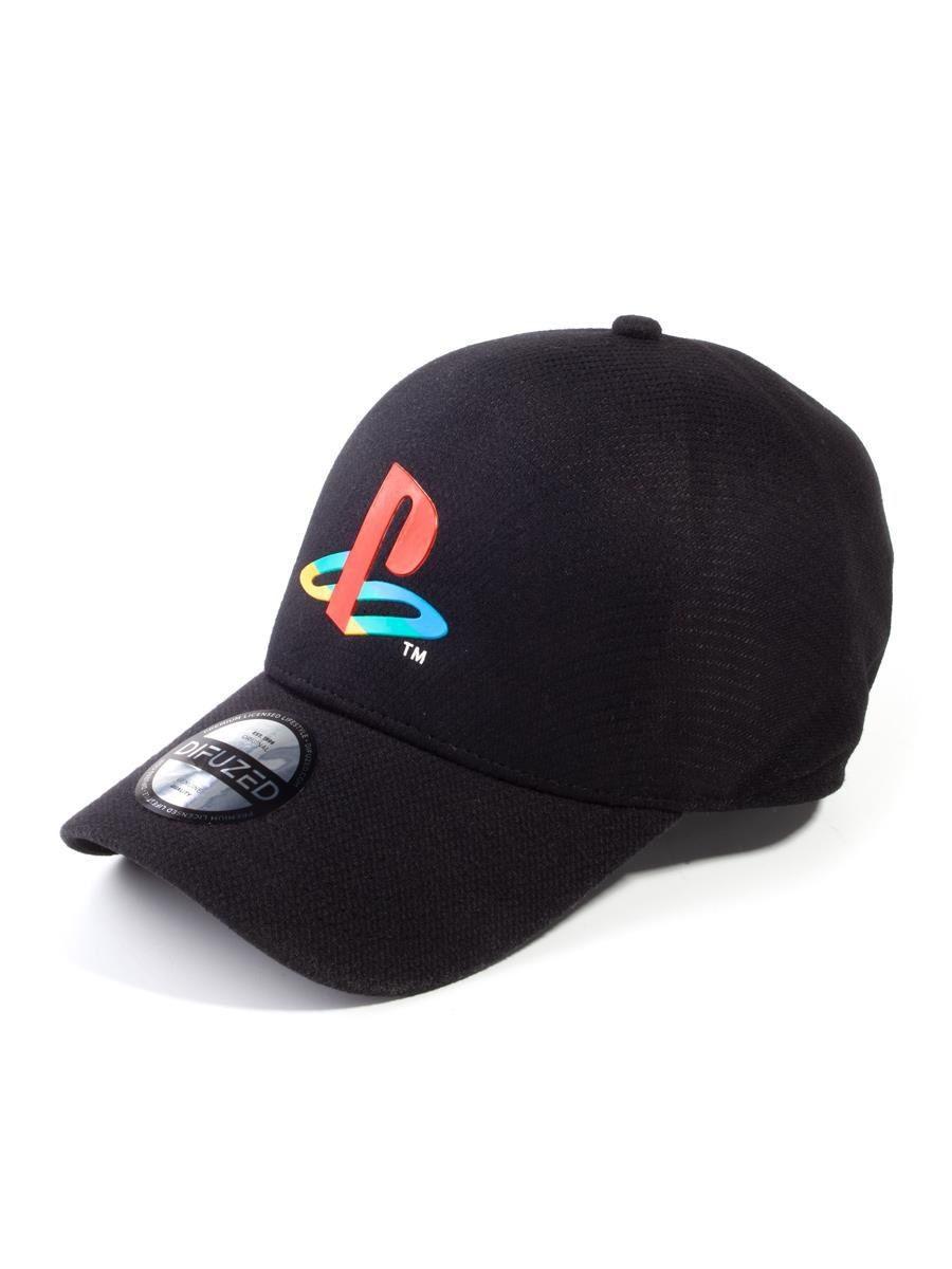 Бейсболка Difuzed Playstation: Logo Seamless (BA731765SNY)