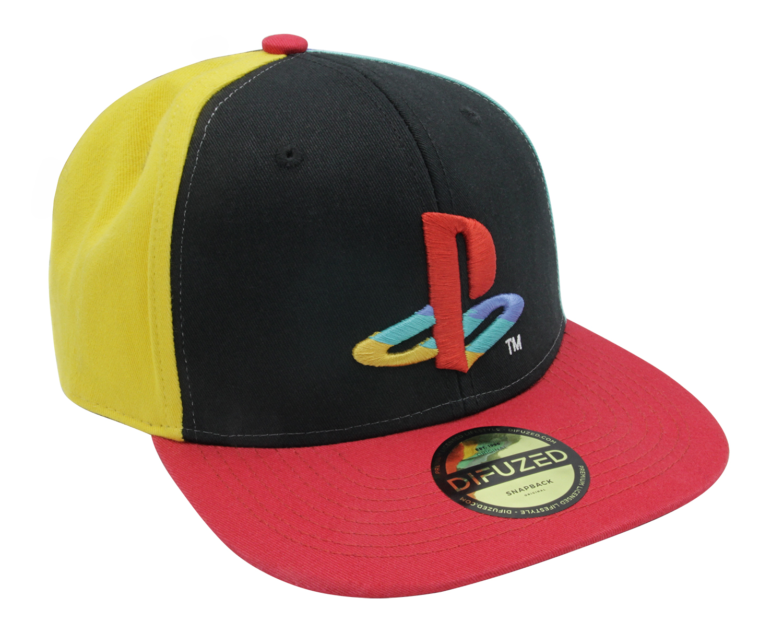 Бейсболка Difuzed PlayStation: Original Logo Colors (SB111204SNY)
