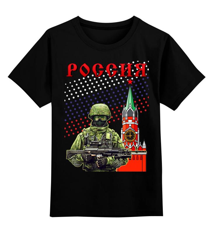 Детская футболка Printio Ратник цв.черный р.116 0000002676315 по цене 990