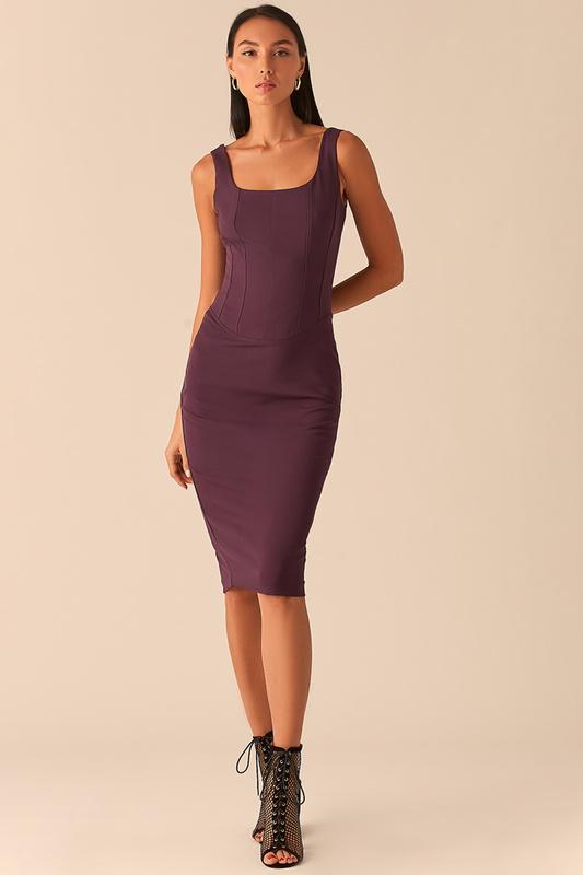 Платье майка женское LOVE REPUBLIC 0358224524/ фиолетовое