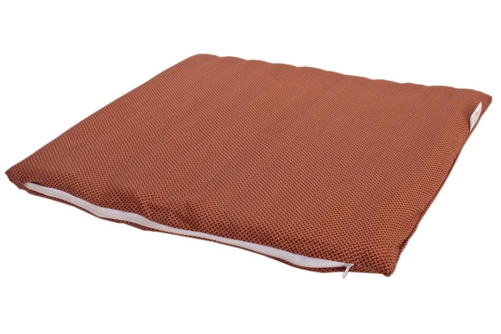 Сидушка на стул Sterling Home Textile,  Лузга гречихи, поликоттон,  45x45