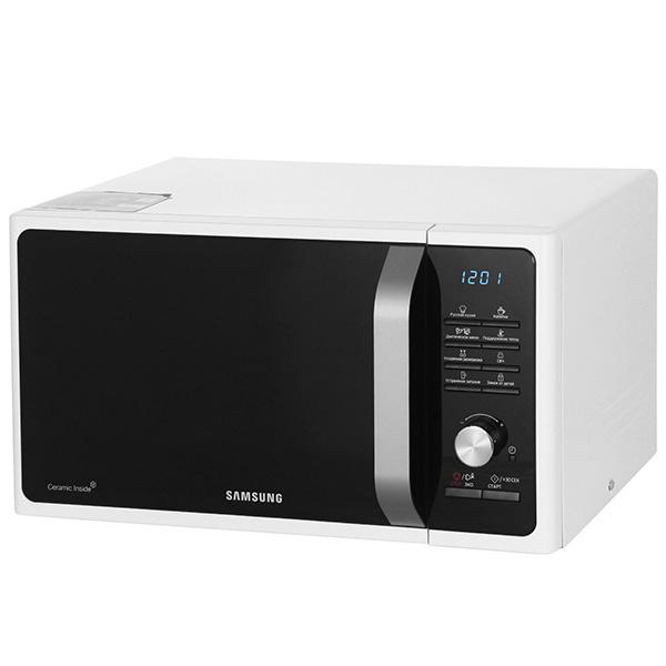 Микроволновая печь соло Samsung MS23F301TQW black/white