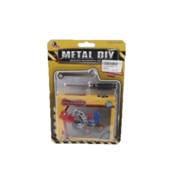 Конструктор металлический (67 деталей)