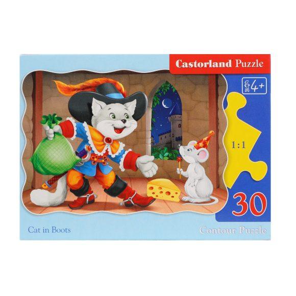 Пазл Castorland Кот в сапогах, 30 элементов